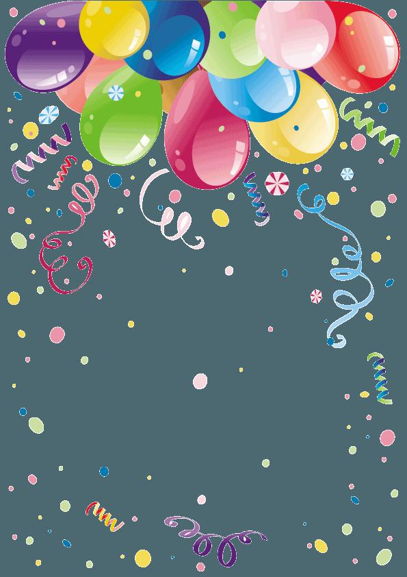 أجمل صور بالونات العيد والمناسبات السعيدة بجودة عالية png للتصميم 6