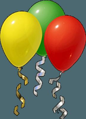 أجمل صور بالونات العيد والمناسبات السعيدة بجودة عالية png للتصميم 10