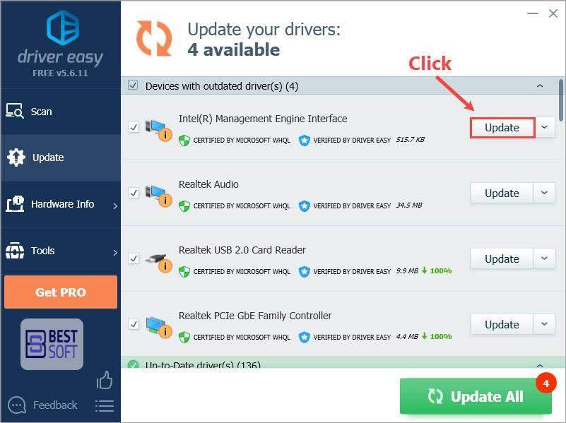 تحميل برنامج Drivereasy - تحديث التعريفات