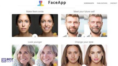 تنزيل تطبيق Face app برنامج تكبير السن faceapp
